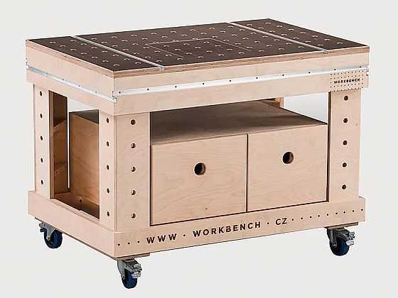 Vylepšete si pracovní stůl Workbench konstrukčními prvky (Zdroj: Workbench)
