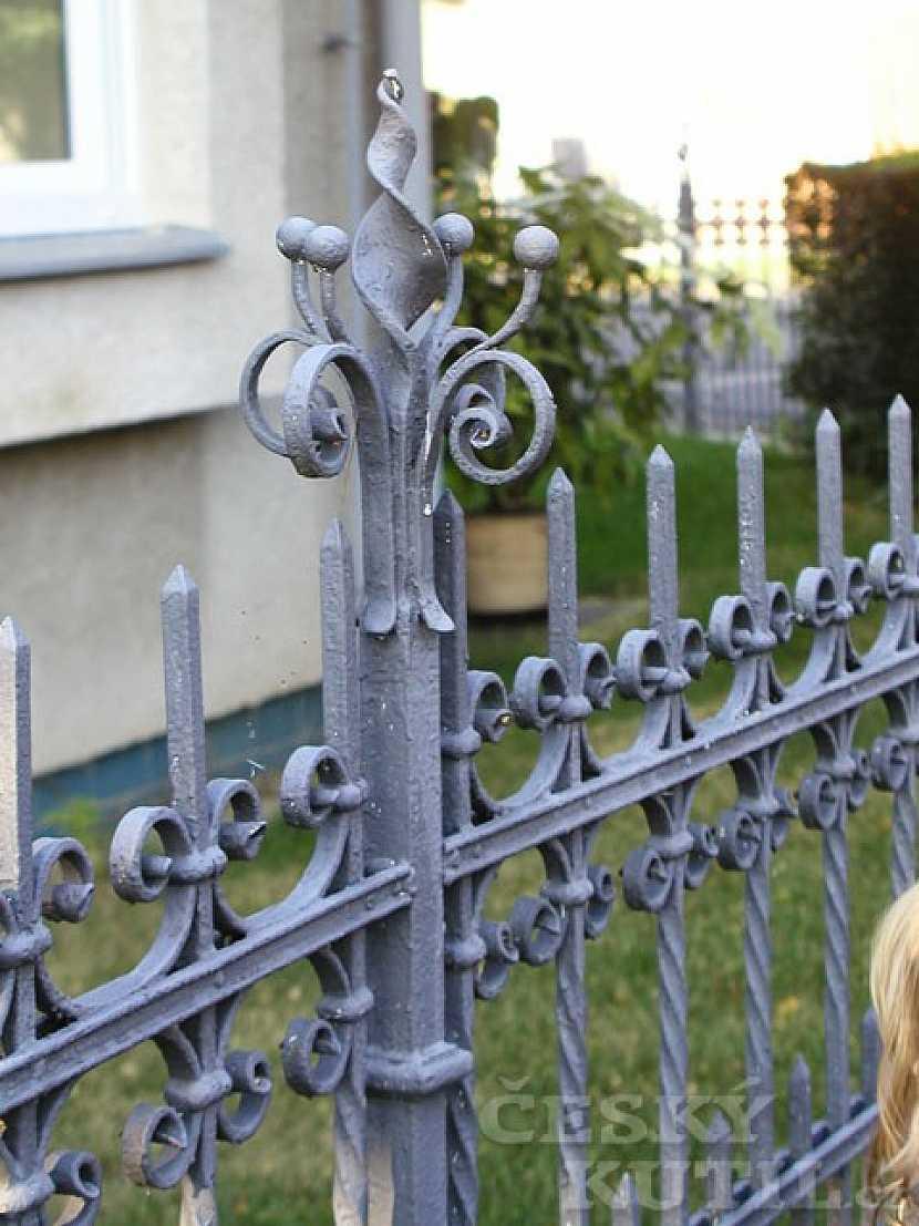 Kovové mříže
