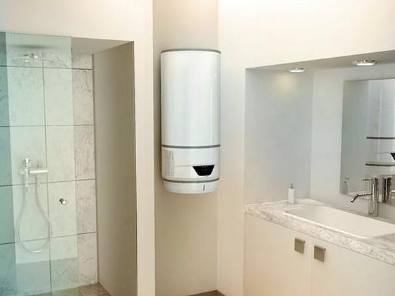 Hybridní ohřívač teplé vody Lydos Hybrid - bojler využívající energii z tepelného čerpadla (Zdroj: Ariston (https://www.ariston.com/cs-cz/))