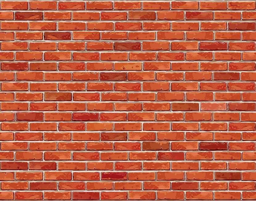 Cihlová zeď je stabilní a klasická a přesto je i velmi hezká