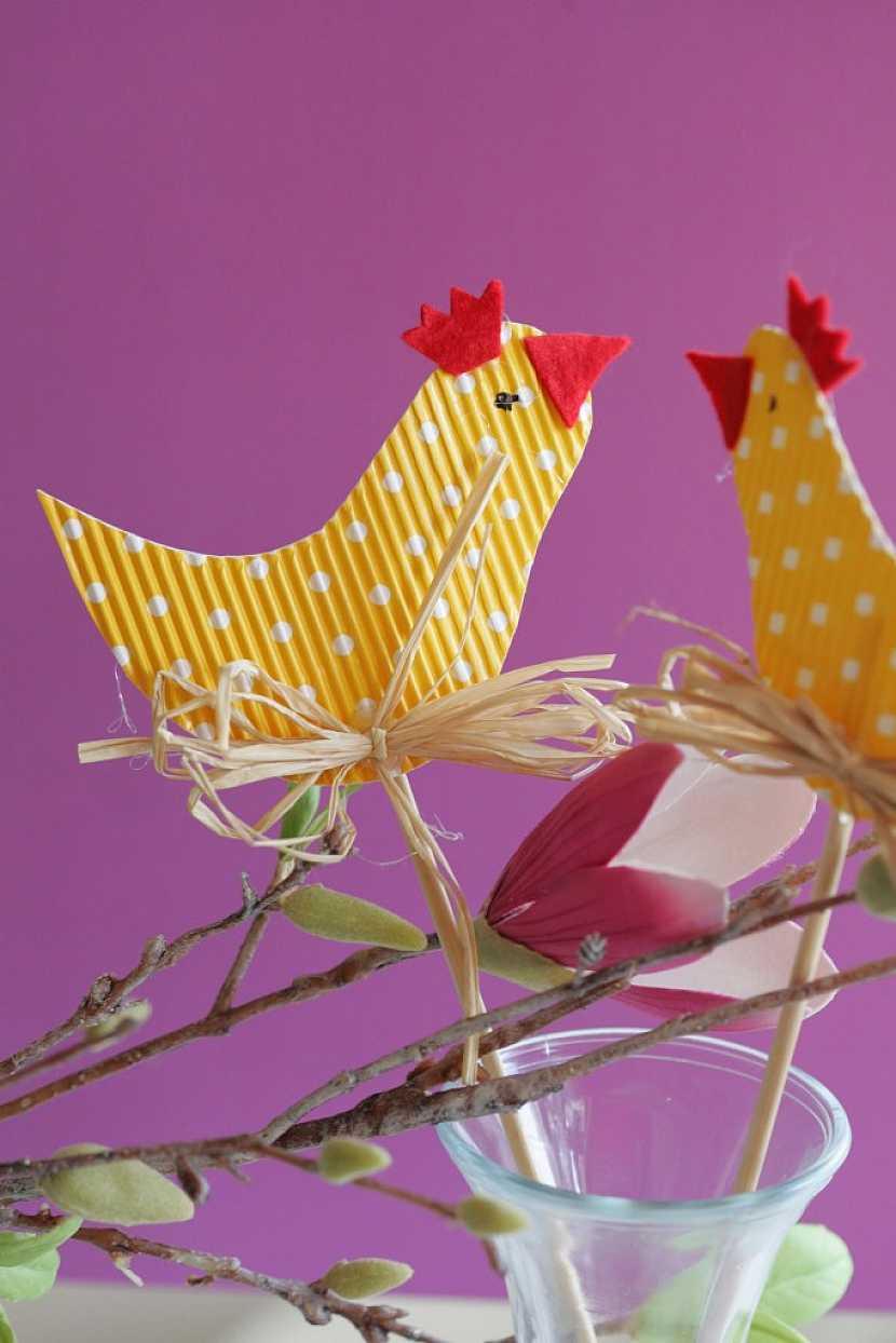 Návod na kuřátka v několika podobách