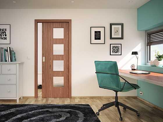 Dýhované dveře od SAPELI – příroda ve vašem interiéru