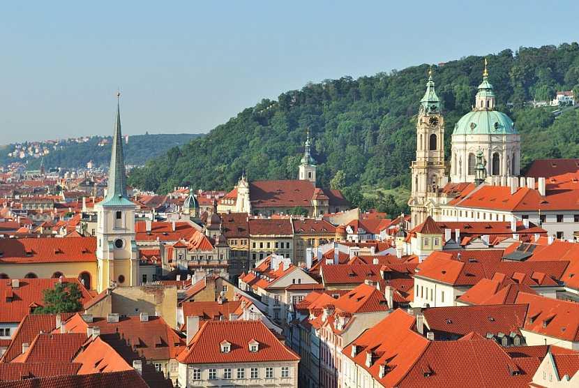 Bobrovka zdobí velmi často budovy v historických centrech měst