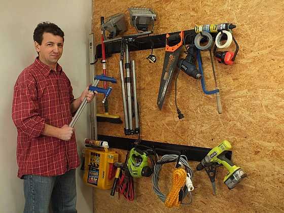 Pořádek v dílně i garáži - uni-max úložný systém