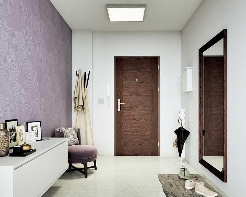 Bezpečnostní, protipožární a zvukotěsné dveře Tenga 25, dýha wenge, cena 13788 vč. DPH