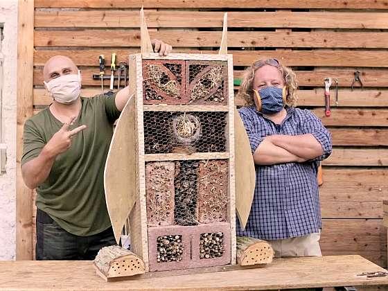 Vyrobte hmyzu vlastní hotel (Zdroj: Prima DOMA MEDIA, s.r.o.)