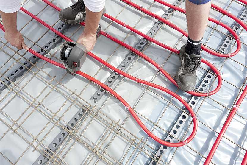 Instalování kabelů