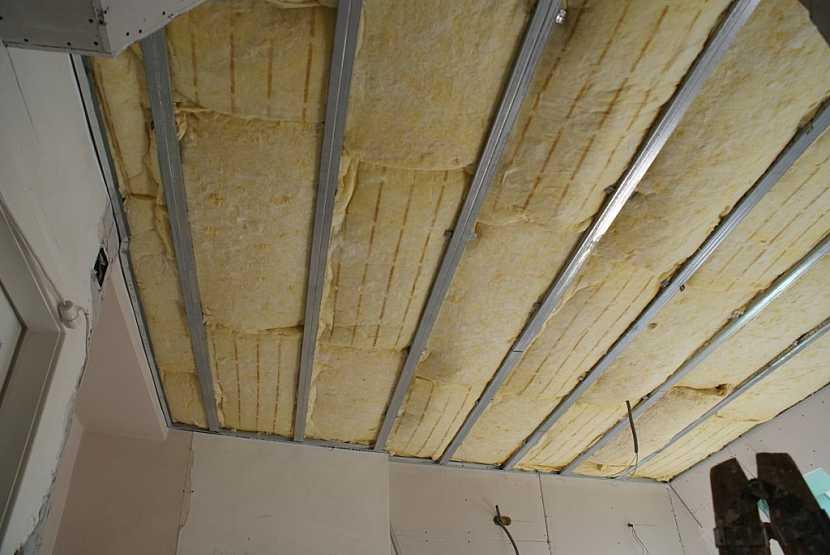 Izolace stropu