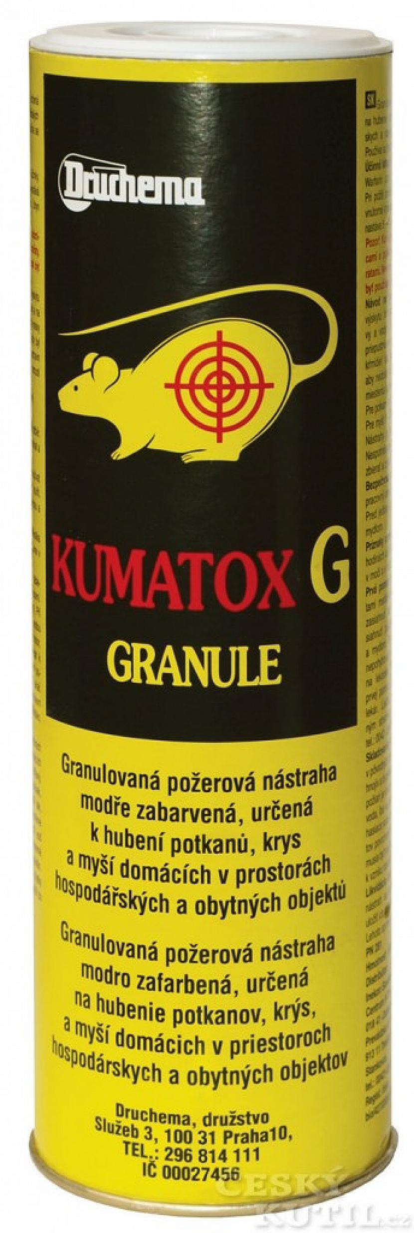 Jak na deratizaci? KUMATOX G