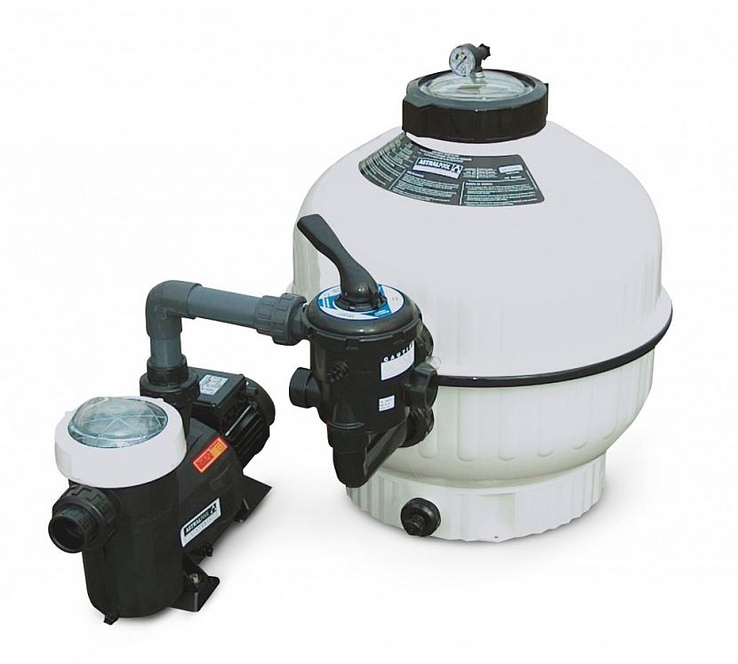 Bazénovou filtraci zbavte vody, vysušte a uložte na suché bezmrazé místo (Zdroj: Mountfield)