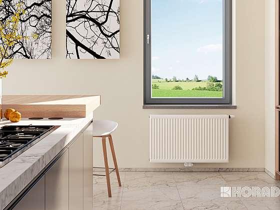 Před začátkem topné sezóny je dobré radiátory vyčistit tak, aby se odstranila prachová vrstva, která se v nich přirozeně tvoří v průběhu celého roku (Zdroj: Korado a.s.)