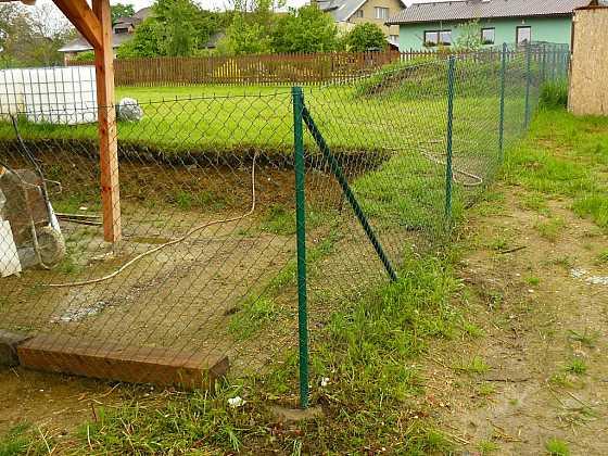 Rychlý beton pro váš plot