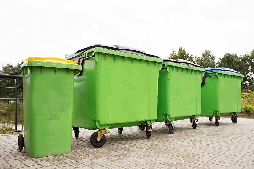 Zelené kontejnery na bio odpad