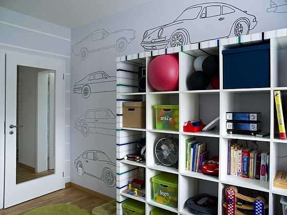 Pokoj pro malého školáka