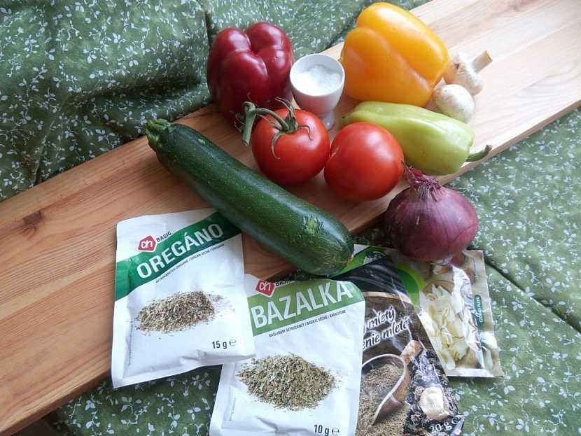 K létu se hodí lehké zeleninové pokrmy