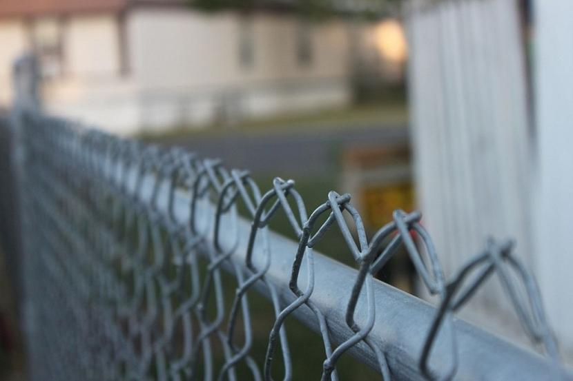 Drátěný plot by měl být nahoře ukončen zahnutými kličkami, aby nedošlo ke zranění