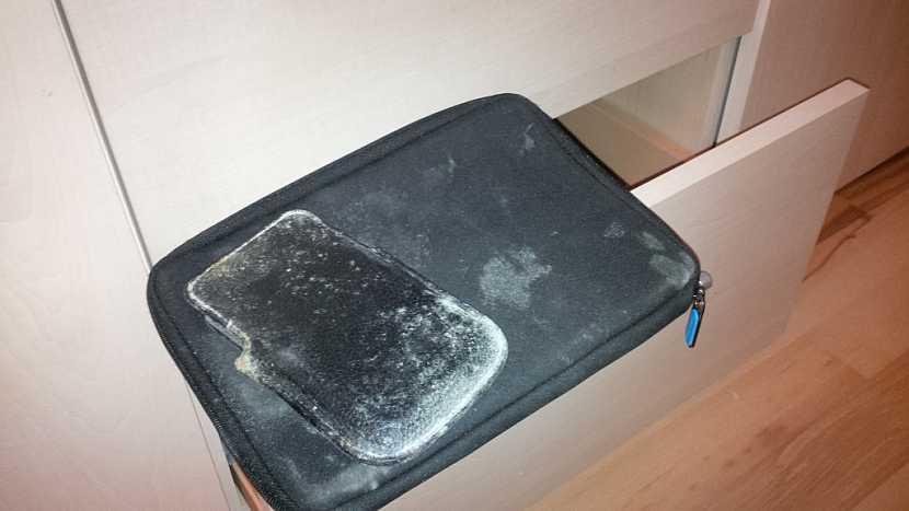 Ani předměty uložené ve skříni neunikly sporám plísní