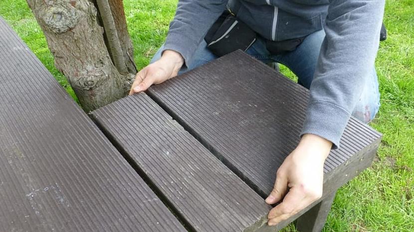 Jak si udělat univerzální a bezúdržbovou lavičku 4