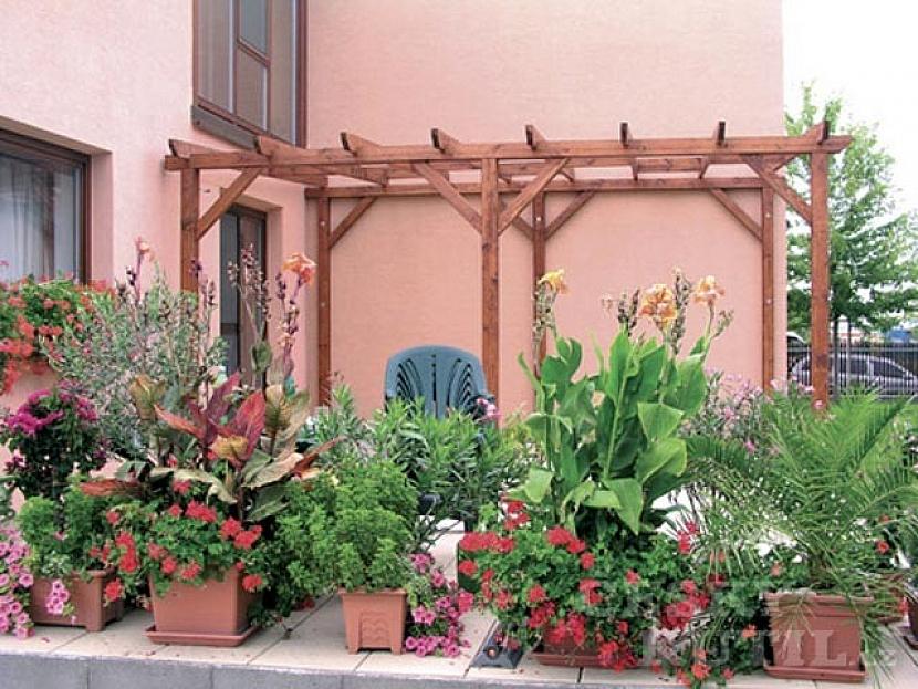 Umístění zahradní pergoly