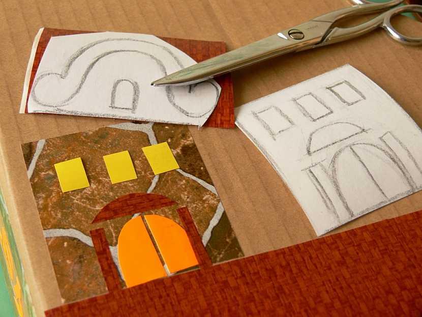 Výroba papírového pořadače z kartonu