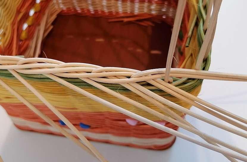 Pletení třípárovou zavírkou