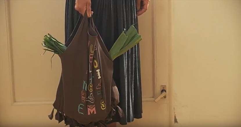 Nákupní taška ze starého trička