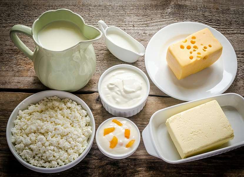 Intolerance lepku bývá často spojena s intolerancí laktózy, tedy mléčných produktů