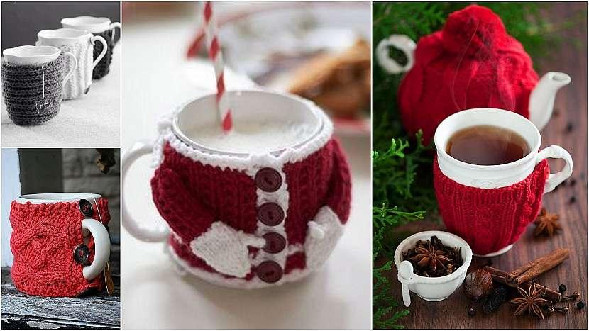 Upletené Vánoce: pro milovníky horkých nápojů