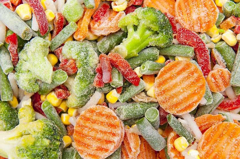 Zamražená zelenina