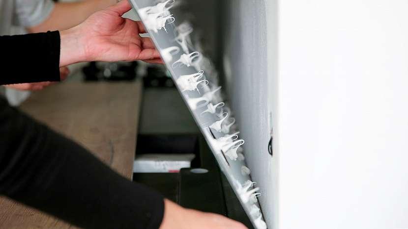 Vlastní instalace obkladové desky s potiskem T.board