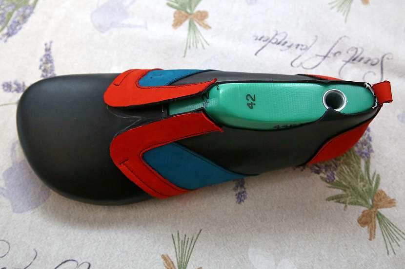 Ševcovské kopyto pro vytvarování boty