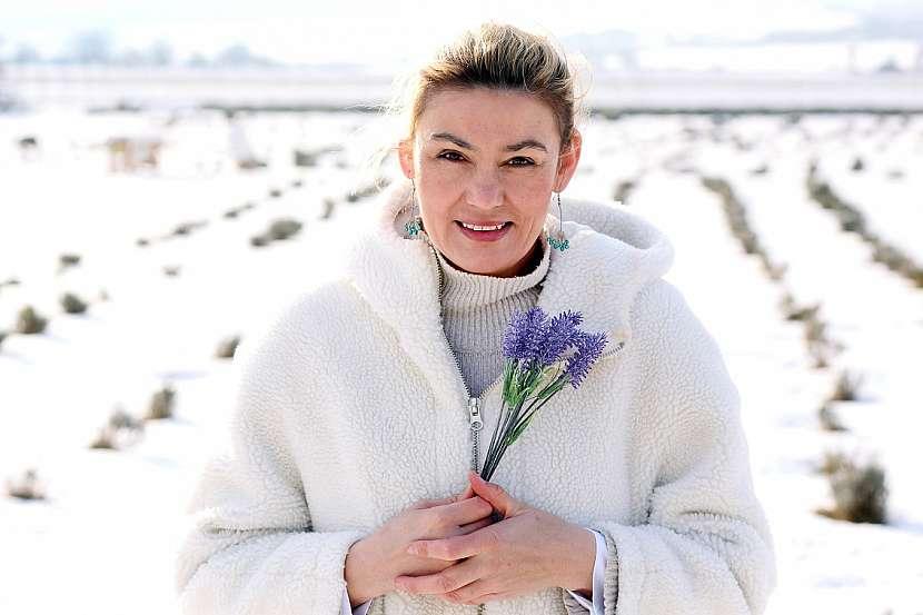 Helena Neumannova - Levandulove udoli pod snehem
