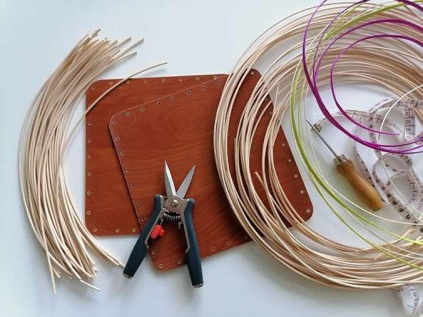 Pletení košíku z pedigu