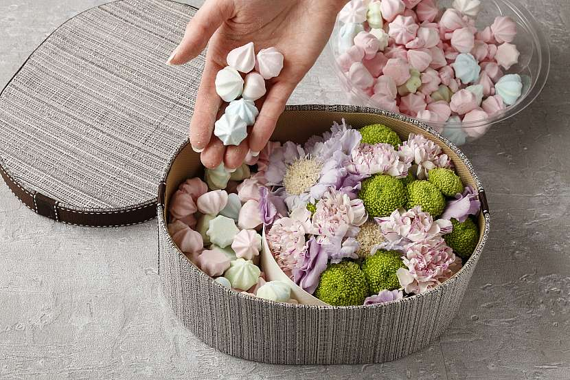 Vložení sladkostí
