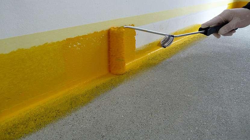 Jak zafixovat a ošetřit betonovou podlahu v garáži 5