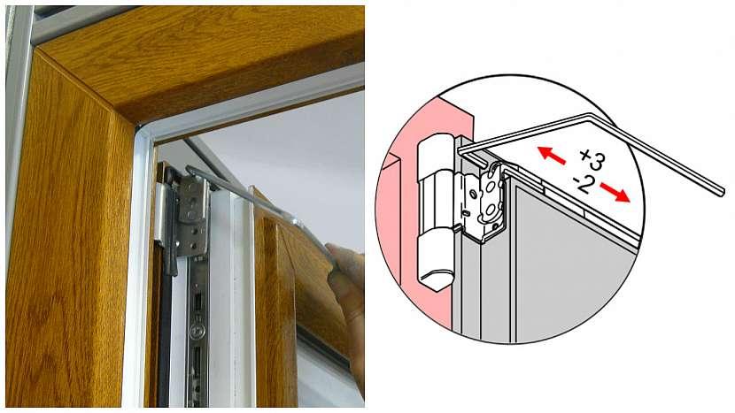 Co dělat, když se okno zavírá samo: Jak svěšené okno správně seřídit 3