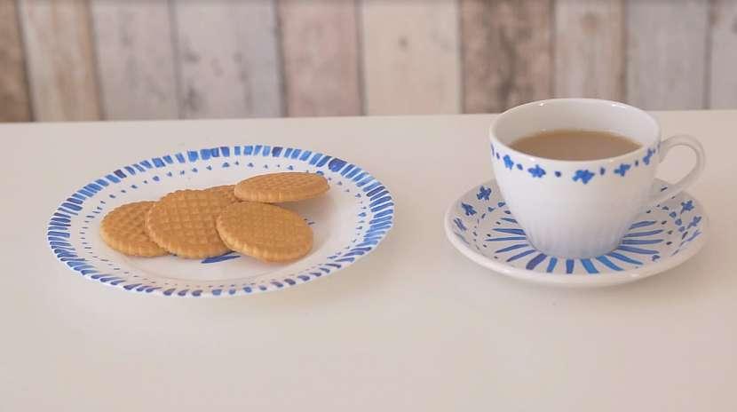 Ručně malovaný porcelán: Vytvořte si originální soupravu na snídani