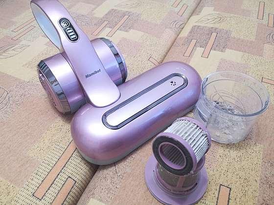 Nežádoucí roztoče v matracích pomůže zničit ruční vysavač s UV lampou (Zdroj: Pavlína Wagnerová Málková)