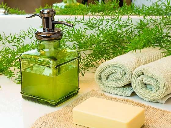Kastilské mýdlo můžete používat nejen k mytí rukou, ale i k ošetření drobných ran (Zdroj: Depositphotos (https://cz.depositphotos.com))