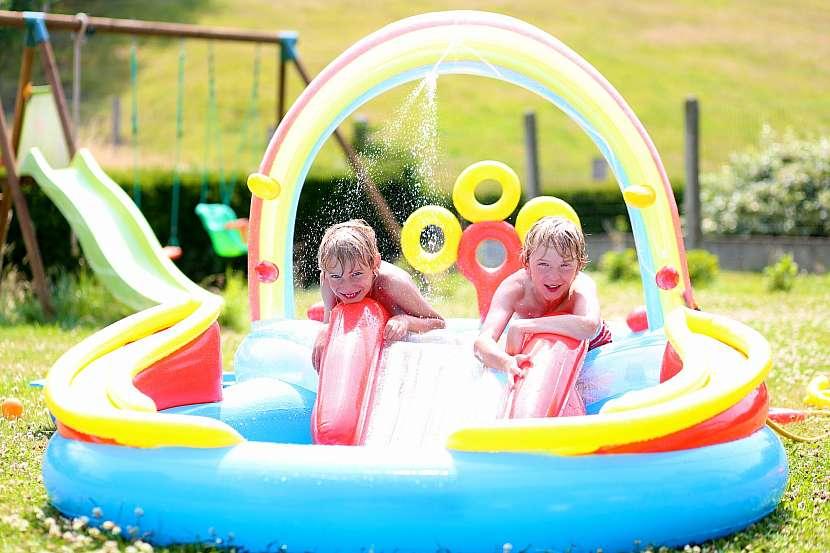 nafukovací bazén pro větší děti