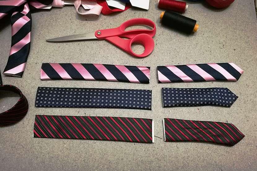 Nastříhejte kravatu