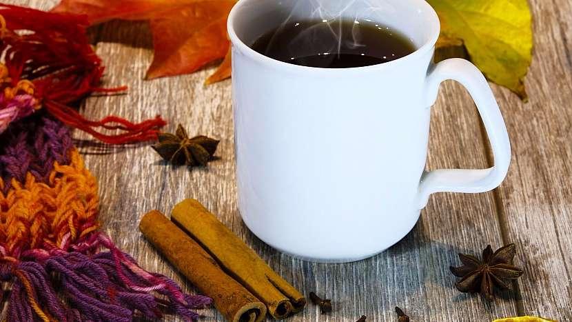 Skořicový nápoj pomáhá při nachlazení