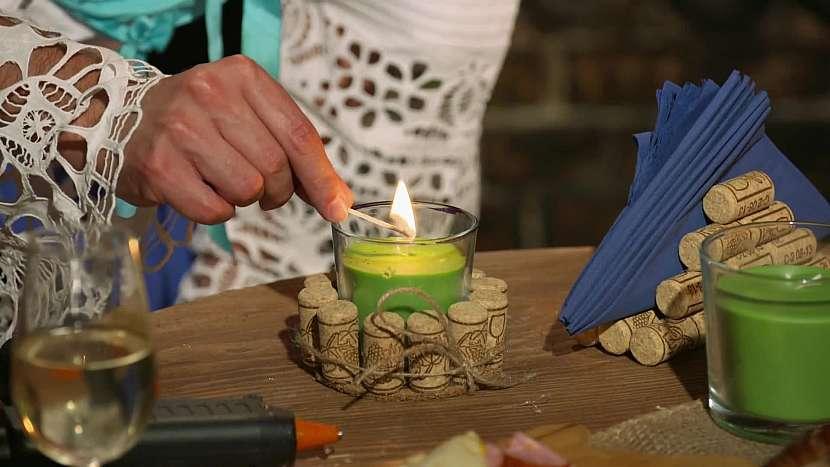 Zelená svíčka