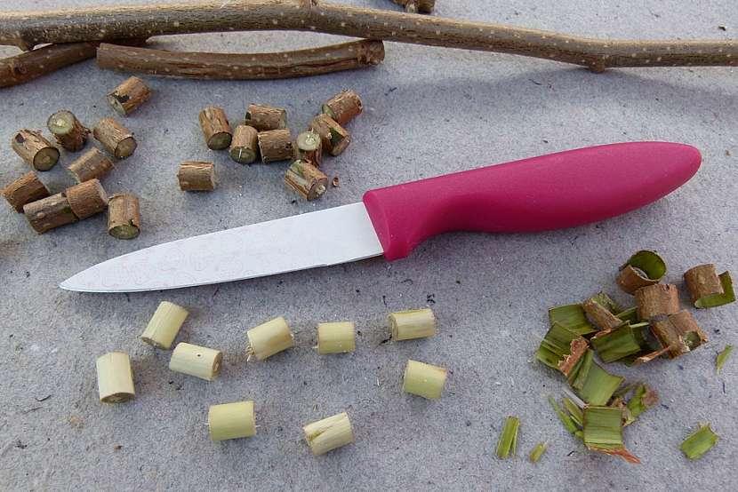 Náramek s korálky z proutků aneb vyrobte si materiál sami 2