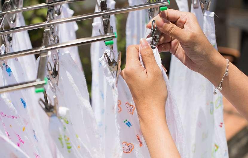 Když víte, jak na to, praní látkových plen není žádná věda