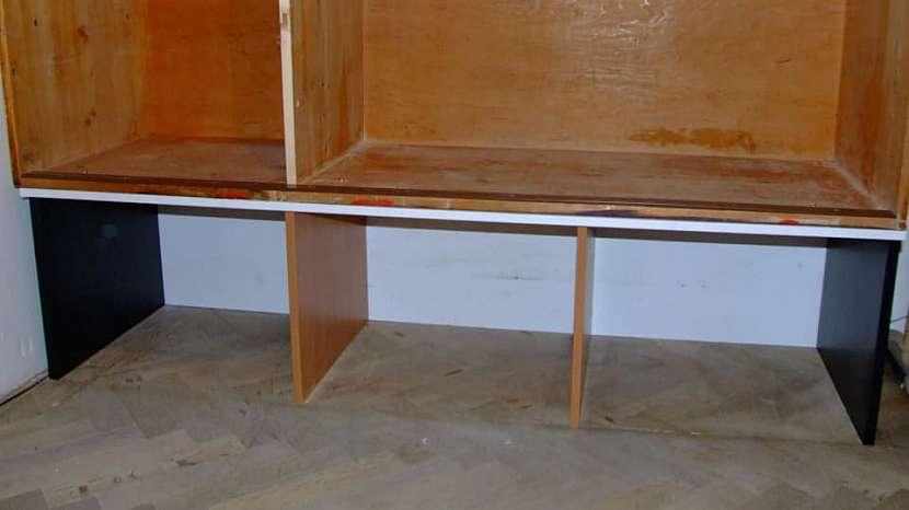 Jak udělat úložný prostor pod starou skříní 2