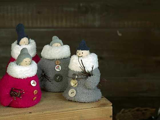 Vyrobte si sněhuláčky ze starých rukavic (Zdroj: Prima DOMA)