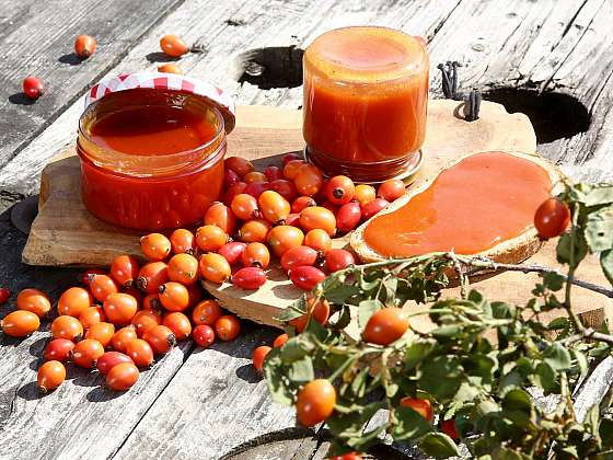 Šípková marmeláda v zimě zahřeje a před nemocí ochrání (Zdroj: Archiv FTV Prima, se svolením FTV Prima)