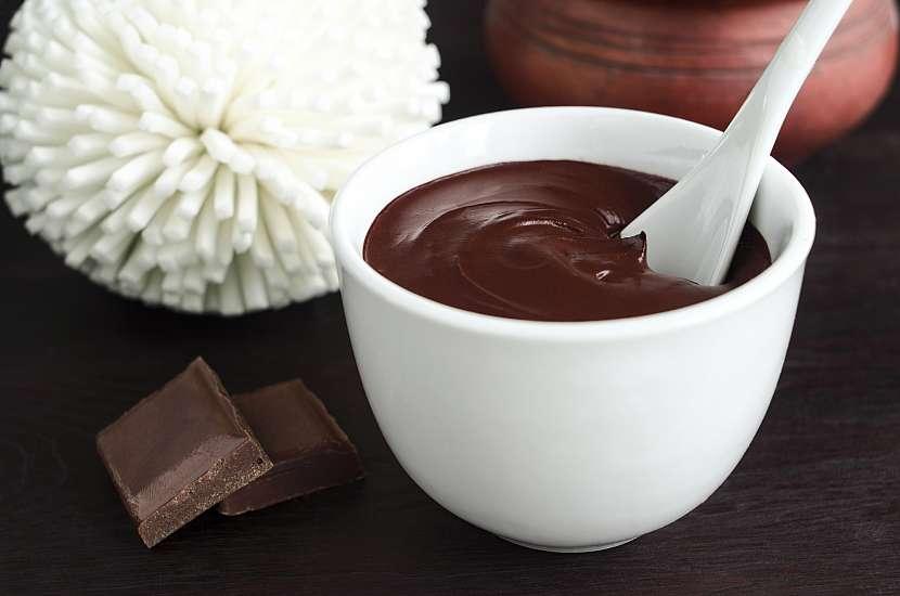 Koupel s čokoládou