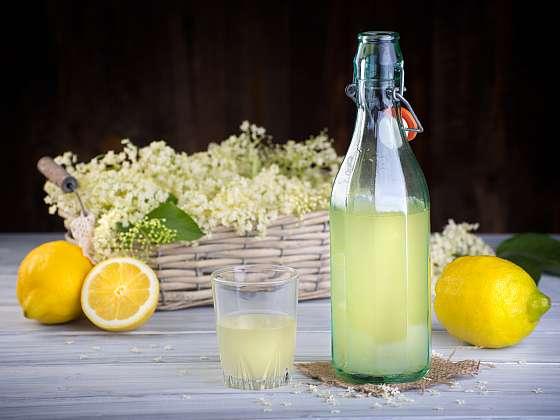 Z bezových květů se vyrábí sirupy, osvěžující nápoje, šťávy, likéry, džemy, želé nebo lahodné čaje (Zdroj: Depositphotos)